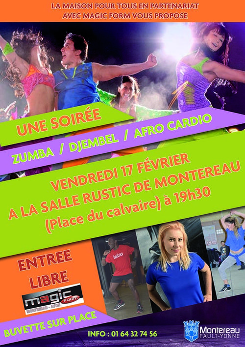 Soiree zumba a montereau fault yonne century 21 martinot for Agence immobiliere yonne